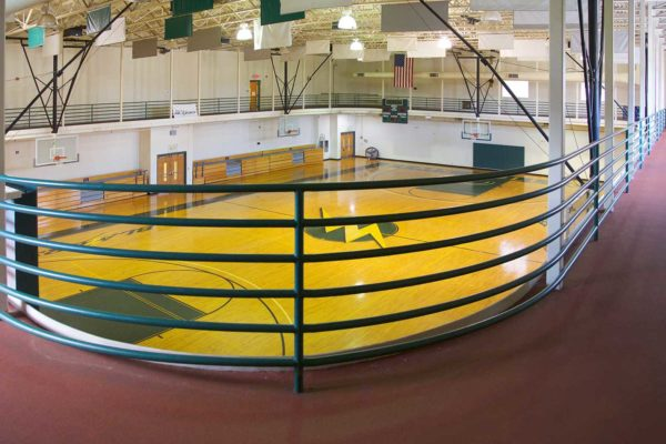 Running Track and Gym